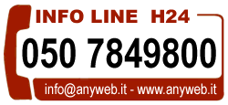 Telefono Anyweb Consulting - Internet Provider Pisa