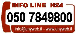 Telefono Anyweb Consulting - Internet Provider Pisa